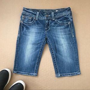 Miss Me Jeans Bermuda Long Shorts JP5002M54